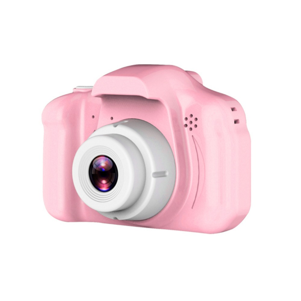 H9ed0c80c833848e1ae128f30a1604e23y Rechargeable Kids Mini Digital Camera 2.0 Inch HD Screen 1080P Video Recorder Camcorder Language Switching Timed Shooting #S