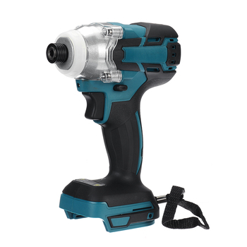 18V Cordless Electric Screwdriver Speed Brushless Impact Wrench Rechargable Drill Driver+ LED Light For Makita Battery