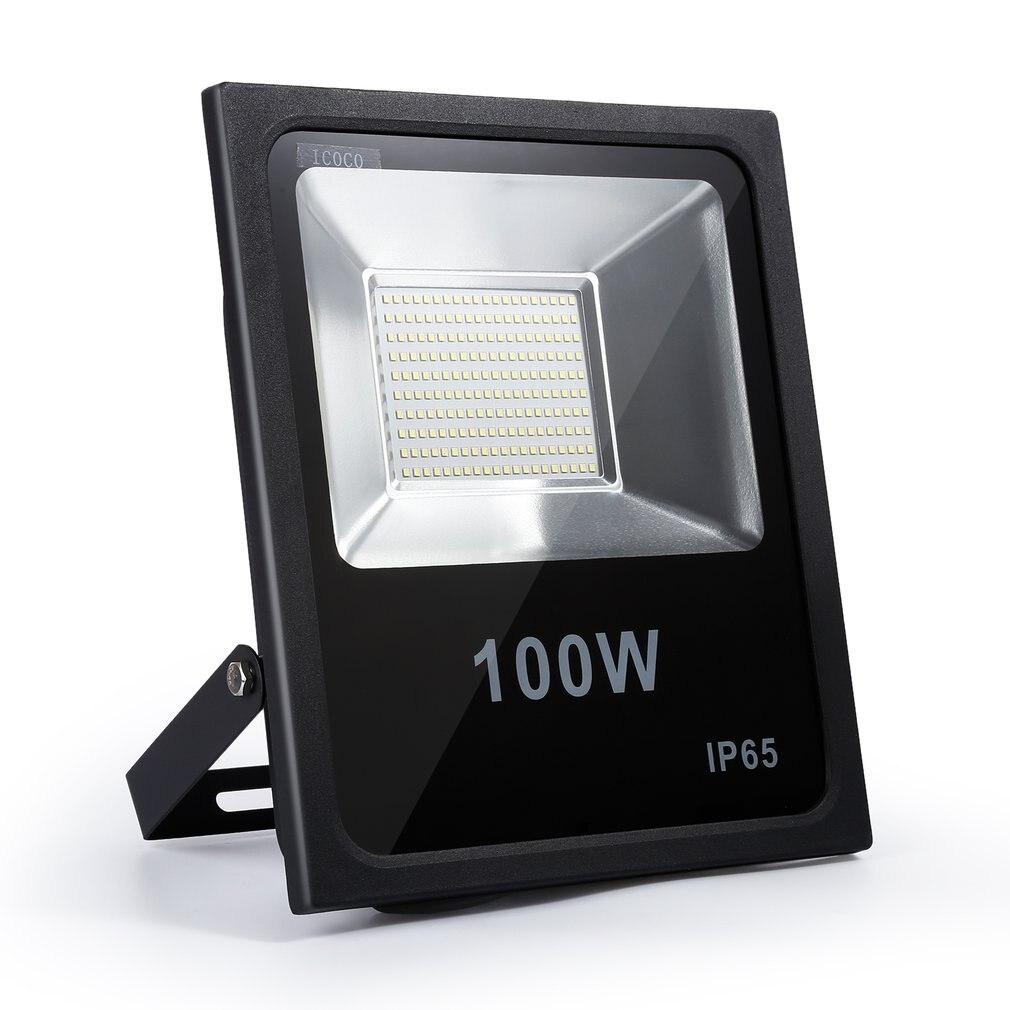 Projecteur extérieur de lumière d'inondation de LED d'icoco 20/50/100W LED étanche lumière de sécurité pour l'hôtel de tache scénique de jardin