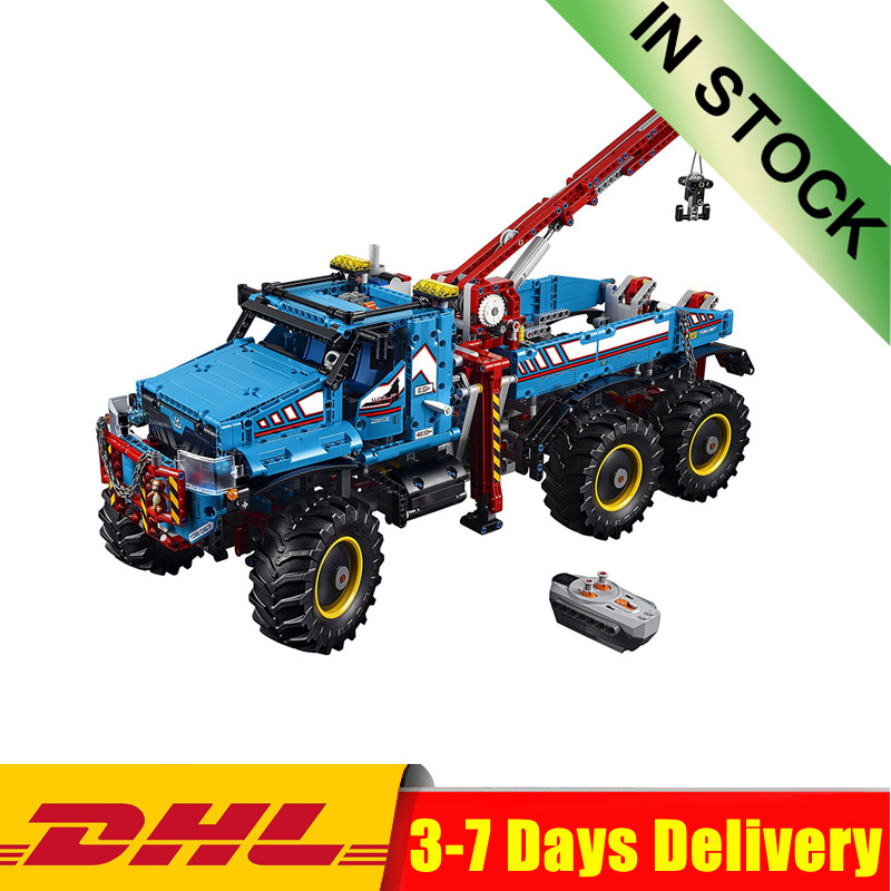 The Ultimate All Terrain 6X6 Remote Control Truck Set Building Blocks Bricks Toys Compatible <font><b>Legoinglys</b></font> 20056 <font><b>42070</b></font> image