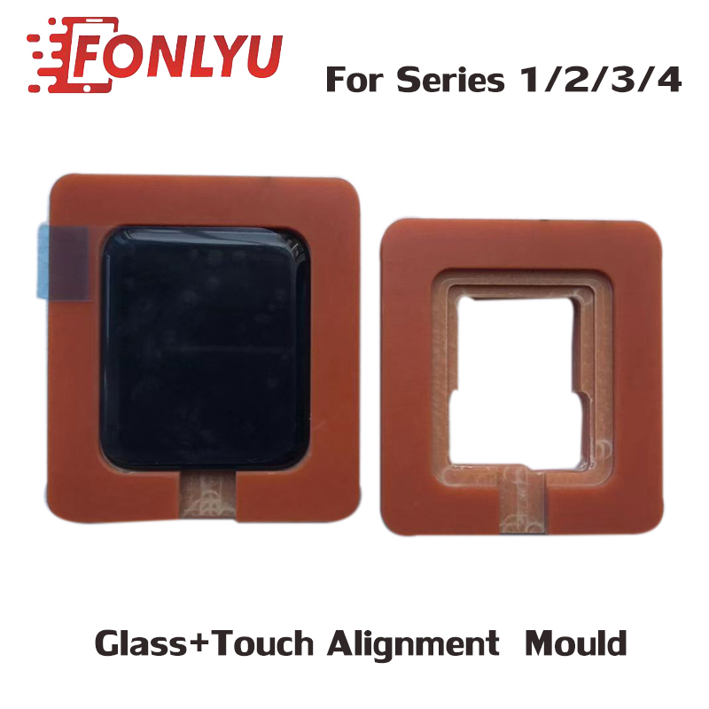 Precision Alignment Position Mould For Apple Watch 42/38/40/44mm Series 1 2 3 4 Damaged Glass OCA Touch+Glass LCD Display Repair
