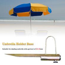 Новый переносной Солнце пляжный зонтик sombrilla Плайя Спайк стенд Рыбалка держатель зонтик заземления якорь