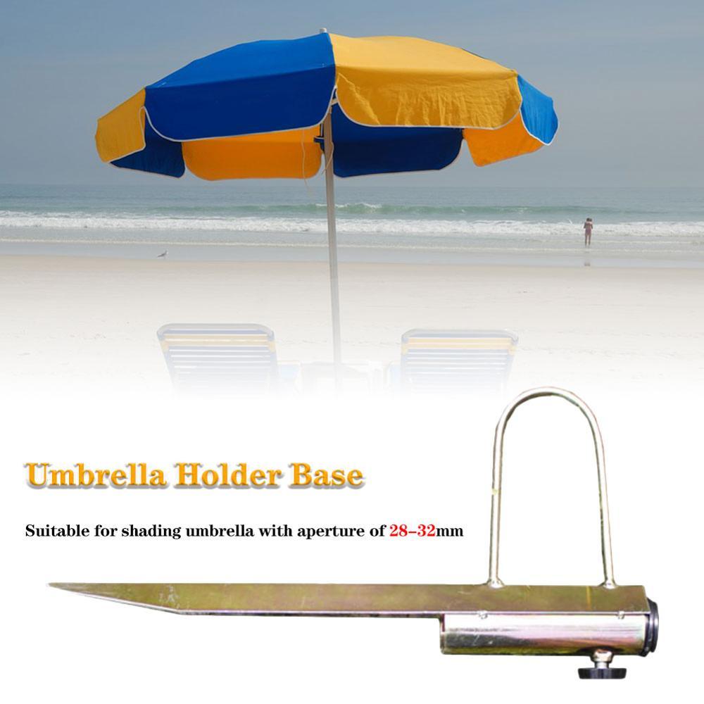 Nowy Protable Sun Parasol plażowy stojak Spike Fishing Parasol uchwyt kotwicy ziemi