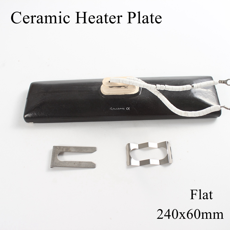 1pc lot 240x60mm 300 1000W Ceramic Heater Plate Infrared Top Air Heating Board For BGA Rework