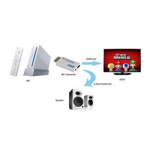Image 5 - Voor Wii Naar Hdmi Converter Wii2HDMI Met 3.5 Mm Audio Video Output Automatische Upscaler Adapter Ondersteuning Ntsc 480i Pal 576i 1080P