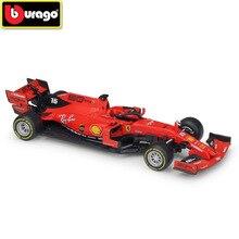 BBURAGO 1:43 F1 Racing Car 2019 SF90 Diecasts Toy Vehicles Car Model FERRAR SF71H Simulation Alloy Car Model Toys Gifts for Kids