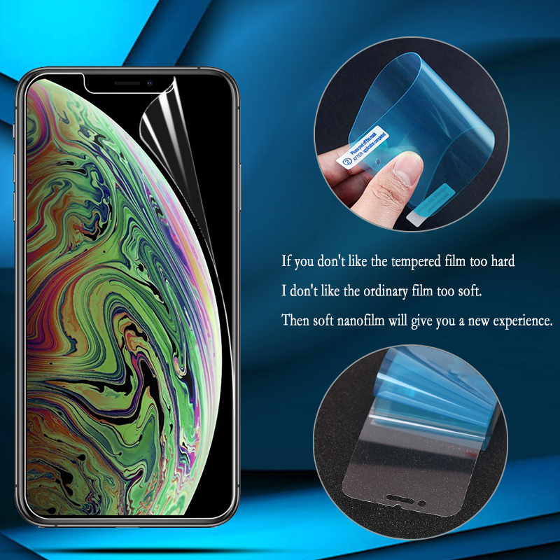Nano Explosion-proof Soft Film Foil For IPhone 11 Pro Max Screen Protector For IPhone 11 Pro Max (Not Tempered Glass)