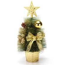 1pcs Christmas Decorations Mini Tree Small Desktop Window Set Gift For Home 30cm