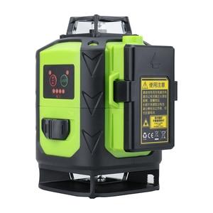 Image 2 - Fukuda niveau Laser 16 lignes faisceau vert 4D auto nivelant 360 degrés rotatif Horizontal et Vertical vert 12 lignes niveau laser