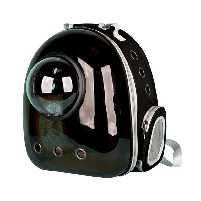панорамный прозрачный легкий рюкзак переноска для домашних животных фотография