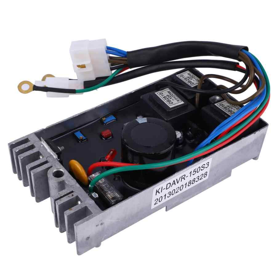 Chuyên Nghiệp Mới Máy Phát Điện Phần Bộ Điều Chỉnh Điện Áp AVR KI-DAVR 150S3 Cho 15KW Độ Chính Xác Cao 3 Pha Máy Phát Điện Dụng Cụ