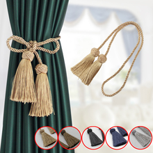 Curtain Tieback Room-Accessories Home-Decoration Polyester Rope Tassel 1pc Gold Straps