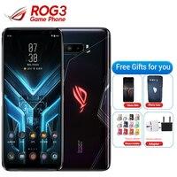 Asus ROG Phone 3 Strix 5G Gaming Smart Phone 12GB 128GB Snapdragon 865 6.59 6000mAh 64MP NFC Asus ROG 3 5G Game Mobile Phone