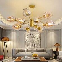 Moderne Minimalistische Kroonluchter Woondecoratie Eetkamer Opknoping Lampen, Restaurant Verlichting Creatieve Woonkamer Kroonluchters