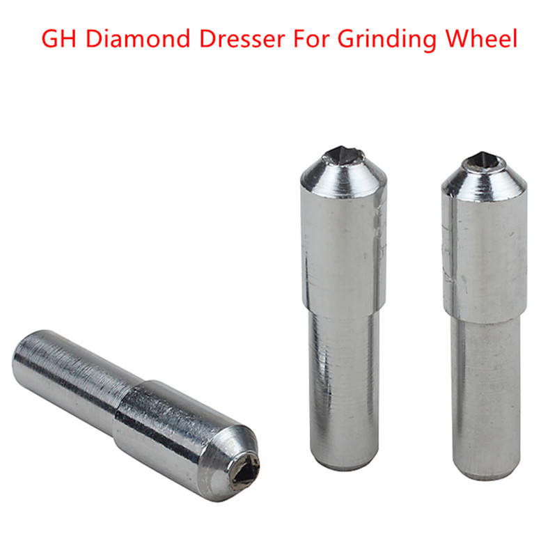 Tapered Diamond Dresser For Grinding Wheel Grinding Disc Wheel Dressing Pen Tool Single Point Abrasive Tools Repair Parts