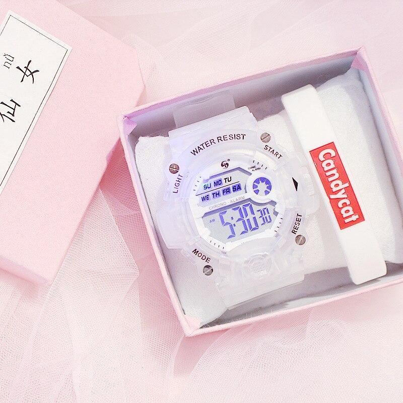 Luxury Analog Digital Fashion Couple Watch Electronic Clock Men's And Women's Watches Sports Digital Waterproof Watch