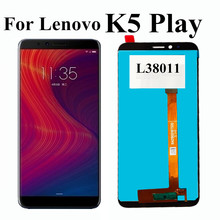 Original LCD For Lenovo K5 Play LCD DIsplay Touch Screen Digitizer Assembly Replacement for Lenovo K5 Play L38011 LCD 5.7 inch