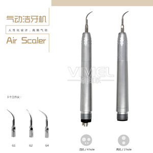 Image 1 - Dental Ultrasone air Scaler Upgrade Borden/Midwest 2/4 Gaten B2/M4 Scaler Handstuk met 3 Tips g1/G2/G3