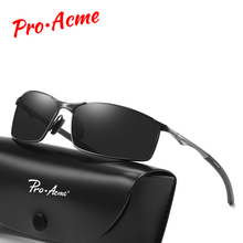 Pro Acme Brand Men HD Polarized Sunglasses Classic Vintage Sun Glasses Coating Lens Driving Eyewear for UV400 Oculos PA1170