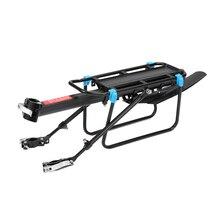 цена на MTB Bike Luggage Carrier Aluminum Bicycle Cargo Racks for 20-29 inch Shelf Cycling Seatpost Bag Holder Stand Rack