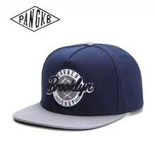 PANGKB брендовая Кепка с надписью «Brooklyn» темно-синяя хлопковая хип-хоп кепка snapback для мужчин и женщин взрослая Повседневная Солнцезащитная бейсбольная кепка Bone