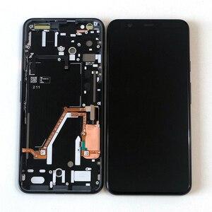 """Image 2 - 6.3 """"Ban Đầu Supor AMOLED M & Sen Cho Google Pixel 4 XL Màn Hình LCD + Bảng Điều Khiển Cảm Ứng Bộ Số Hóa khung Cho Google Pixel 4XL"""