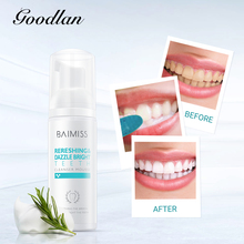 цена на BAIMISS Teeth Cleaning Mousse Tooth Whitening Foam Bubble Toothpaste Oral Hygiene Stains Spots Remover Teeth Cleaner Dental Tool