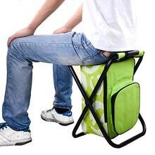 2 в 1 складная сумка для рыболовного стула рюкзак со стулом