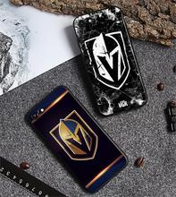 Vegas Golden Knights Phone Case Fashion New Silicone Black Tpu Soft Cover for iPhone 11 Pro Max 6s 6 7 8plus 5S 5 X XS XR XSMax