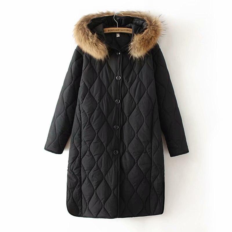Plus size 4XL Winter Long Jacket 2019 New Winter Coats Women Big Fur Collar Warm Woman Parka Outerwear Down Jacket Winter Jacket