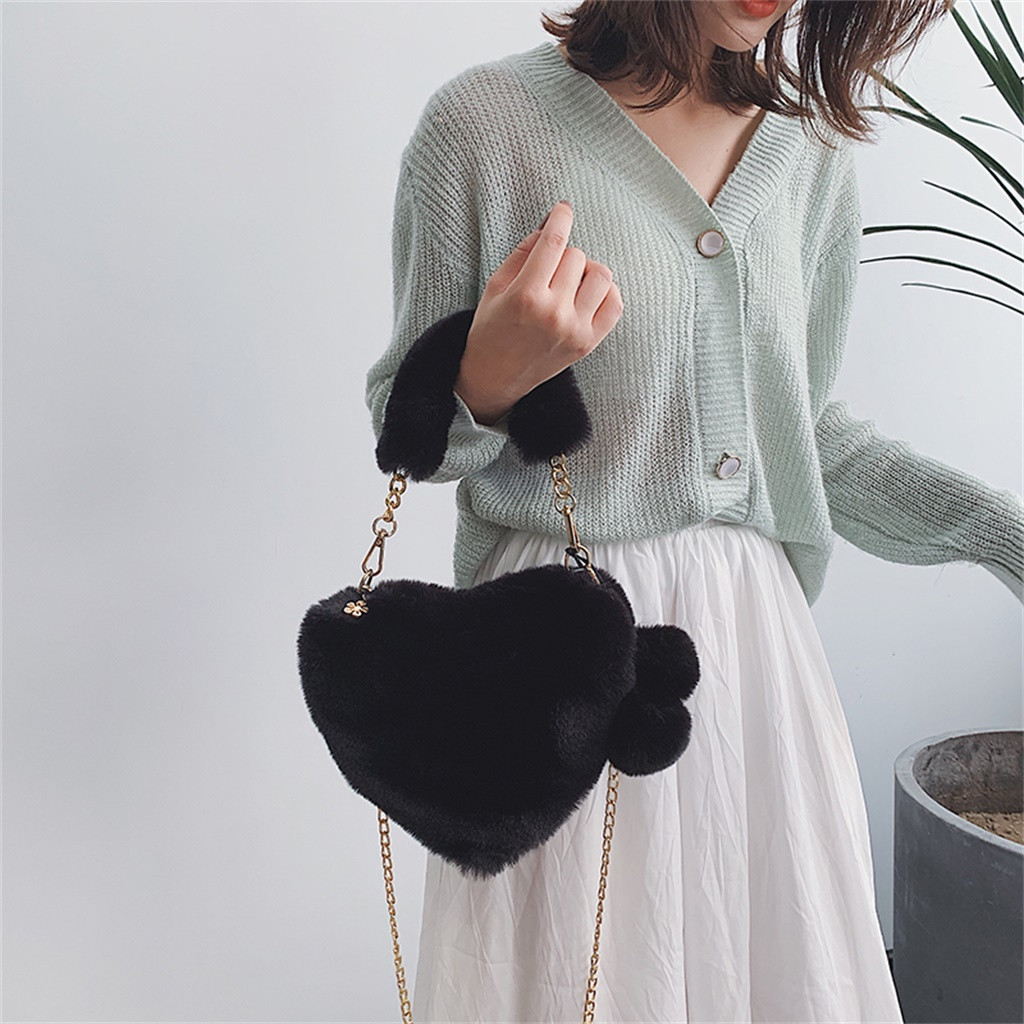 H9ed45bf16de6416d9c549ef7dbb4b3e8Y - Fashion Women Handbags | Cute Fluffy Fur