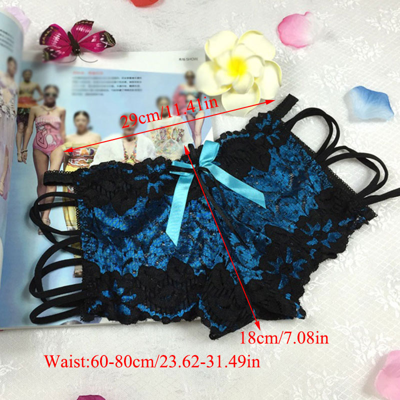 Hollow Out G-String Panties Sexy Lace Floral Briefs Thongs Lingerie Cotton Solid Underwear Women Ladies Soft Low-Rise Knickers