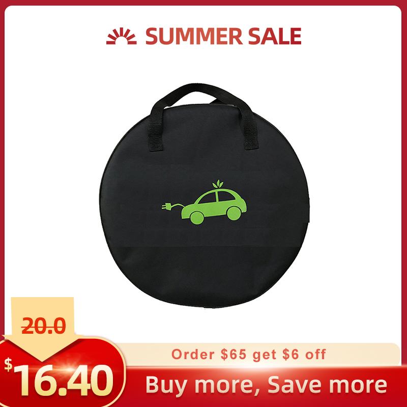 Image 2 - Deligreen EV Bag For Electric Car Electric Vehicle carrying bag for EVSE Portable charging Cable Charging Equipment ContainerBattery Accessories & Charger Accessories   - AliExpress