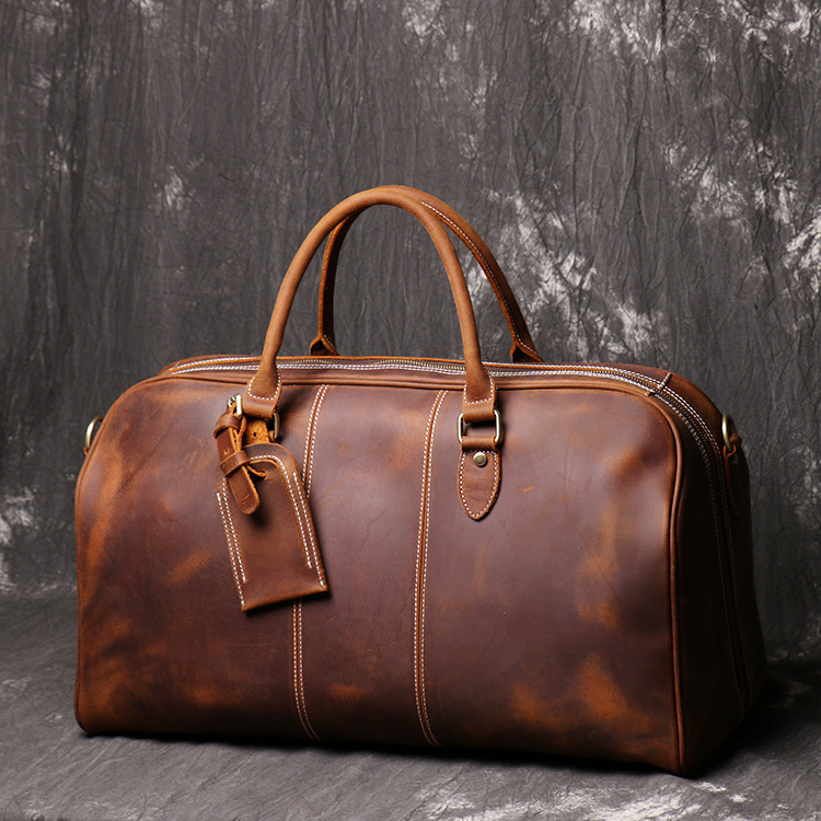 Luufan Weekend-Bag Duffle-Bag Travelling Big-Capacity Fashion Men for Male Top-Layer
