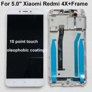 """Image 1 - Oryginalny Test 5.0 """"IPS LCD dla XIAOMI Redmi 4X wyświetlacz ekran dotykowy Digitizer z ramką dla Xiaomi Redmi 4X wyświetlacz LCD naprawa"""