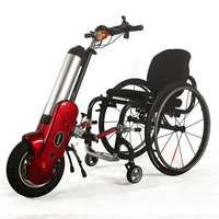 light weight 36V500W electric wheelchair handcycle for disabled people