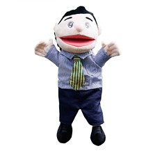 Family Open Mouth Glove Puppets Plush Toys Role Playing Hand Puppets Professional Characters Hand Puppets Children's Toys Рюкзак