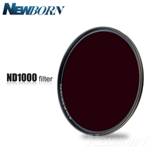 52 58 67 72 77 82mm Neutral Density ND1000 ND 1000 Optical Glass Lens Filter for Canon Nikon Sony Pentax Olympus Camera Lenses