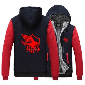 Azur Lane Harajuku Men Women Print Eagle Union Royal Navy Logo Hoodies Unisex Sport Sweatshirt Casual Hoodies