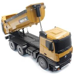 fast free dropship Huina 1573 RC Big Dump Truck 1/14 10 channels 2.4GHz 7.2V 400mAh from Poland to EU Countries tax/duty paid