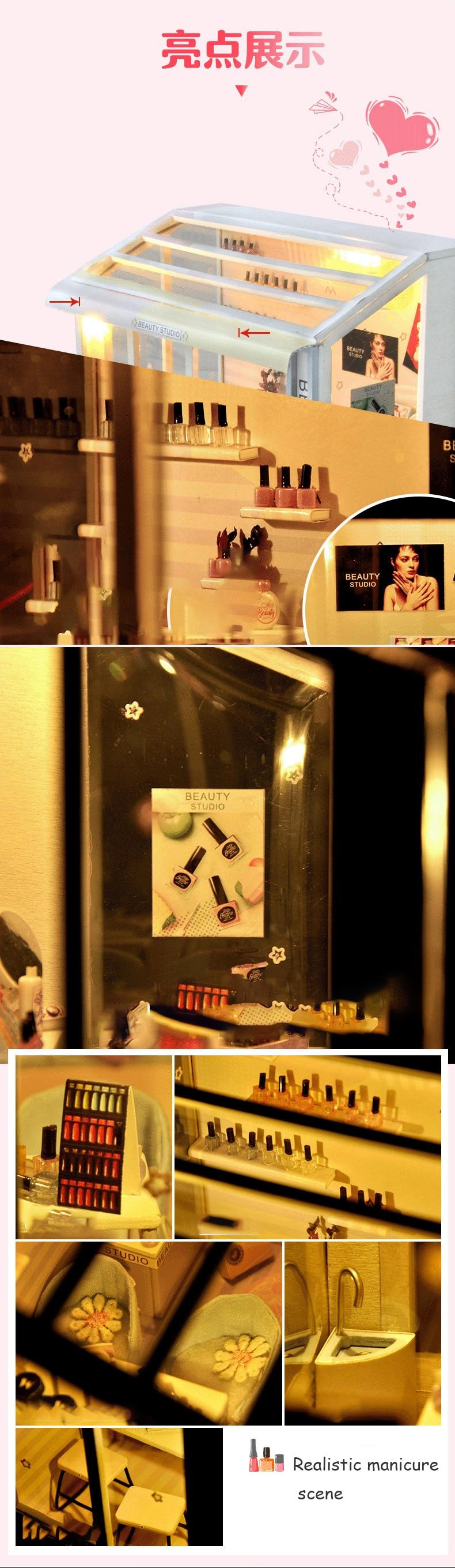 H9ed53403a4a241e7b0c1daca84f5cf24v - Robotime - DIY Models, DIY Miniature Houses, 3d Wooden Puzzle