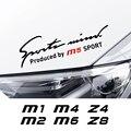 Auto Lampe Augenbraue Carbon Fibe Aufkleber Für BMW M1 Hommage 40i M2 CS M3 E92 M4 M5 M6 Z1 Z3 z4 E89 E85 Z8 Auto Zubehör Auto Aufkleber