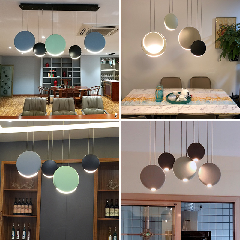 Pendant Lights Lustre Pendente Crystal   Restaurant  Bedroom Hanglamp  Luminaire