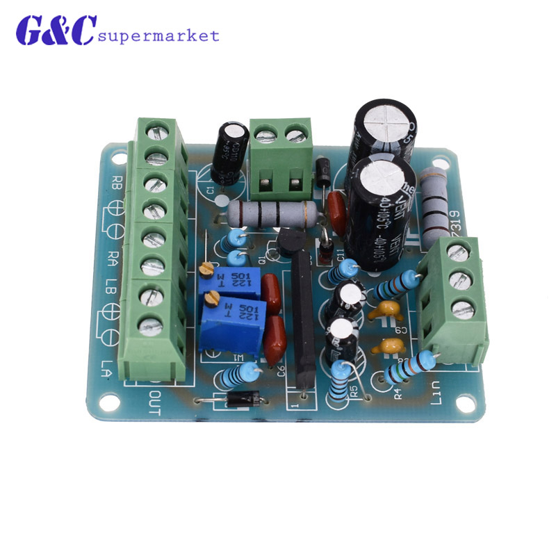 12V power amplifier VU meter driver board DB audio level meter TA7318P electronic product compatible board diy
