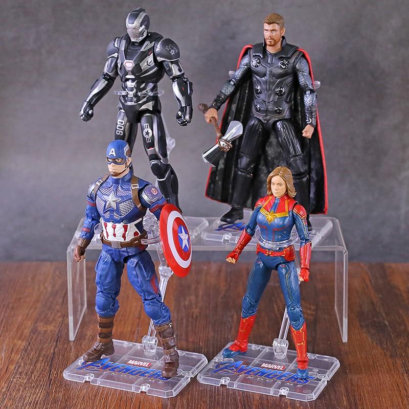 avengers-endgame-captain-america-font-b-marvel-b-font-carol-danvers-thor-war-machine-7-action-figure-collectible-model-toy