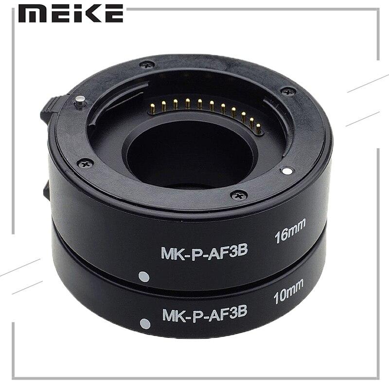 Meike Mcoplus Macro MK-P-AF3-B Auto Focus Extension Tube Ring DSLR For Panasonic Olympus Lumix Micro 4/3 System Camera E-M5 GX1