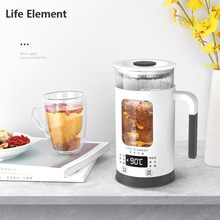 Life Element Electric Kettle Health Preserving Pot Stainless Steel Glass Boiled Tea Pot Hot Water Bottle Warm Kettle 110V 220V недорого