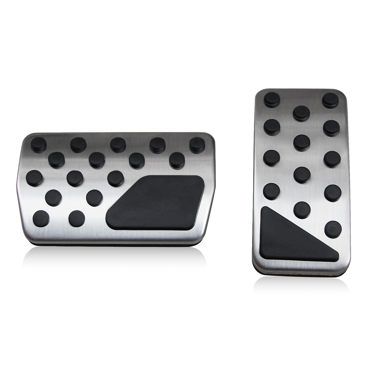 Gas Brake Pedal Pad Cover Set Accessories For Dodge Journey Jeep Compass Patriot