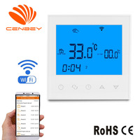 Wifi Thermostat Underfloor Heating Thermostats Smart Heating Controller Programmable Room Thermostat Gas Boiler Thermostat 16A 3