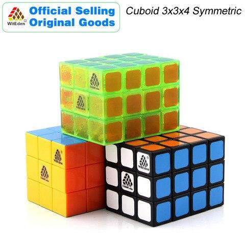 witeden 3x3x4 cubo magico cuboid 1c 334 cubo simetrico velocidade profissional neo cubo quebra cabeca